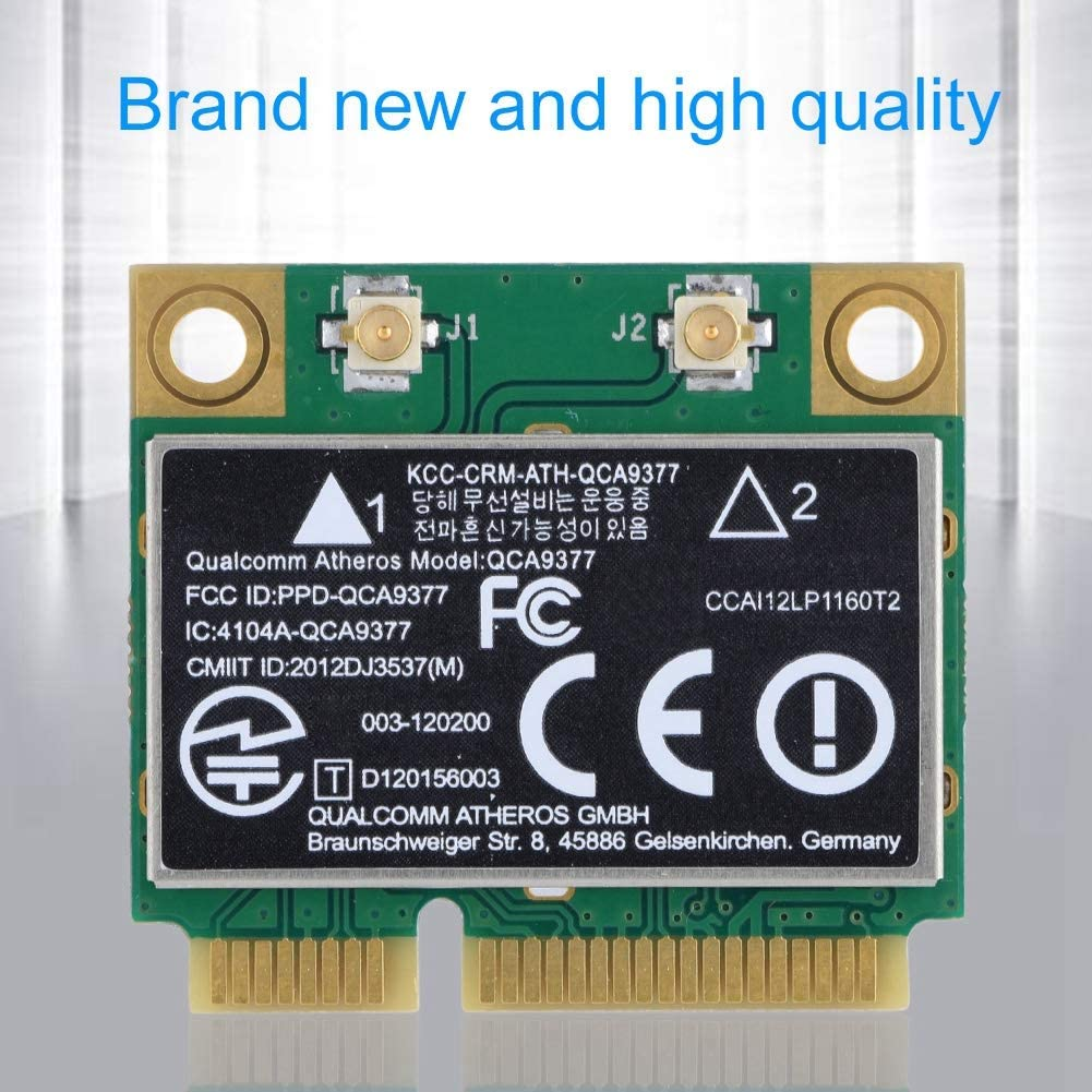 etc. Industrial Control Board Laptop Diyeeni WiFi Card Dual Band 2.4G//5Ghz Network Card 433Mbps Bluetooth 4.2 WiFi Mini PCI-E Wireless Card,Compatible with Desktop