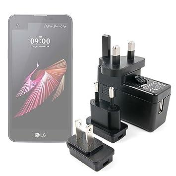 DURAGADGET Kit De Adaptadores con Cargador para Smarphone LG X ...