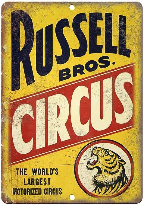 Taco Thursday Russell Bros Circus Pintura de Hierro Cartel ...