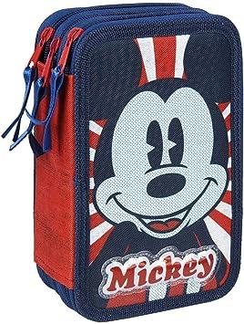 MICKEY MOUSE 21-2487, Estuche, Talla única, Multicolor: Amazon.es: Equipaje