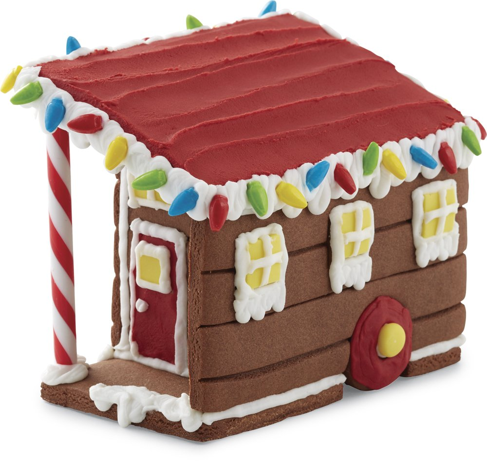 Chocolate Cookie Tiny House Decorating Kit