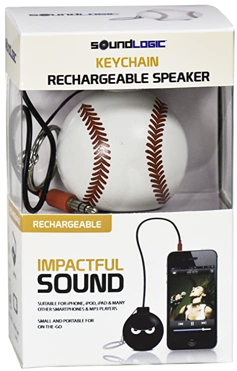 Amazon.com: soundlogic altavoz deportes Llavero Recargable ...