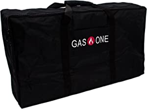 GasOne New Propane Stove Burner Universal Carry Bag for Double Burner Cooker Grills Heavy Duty, 50460