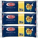 【3袋セット】 バリラ スパゲッティ1.8mm(No.5) [正規輸入品] 1kg × 3袋