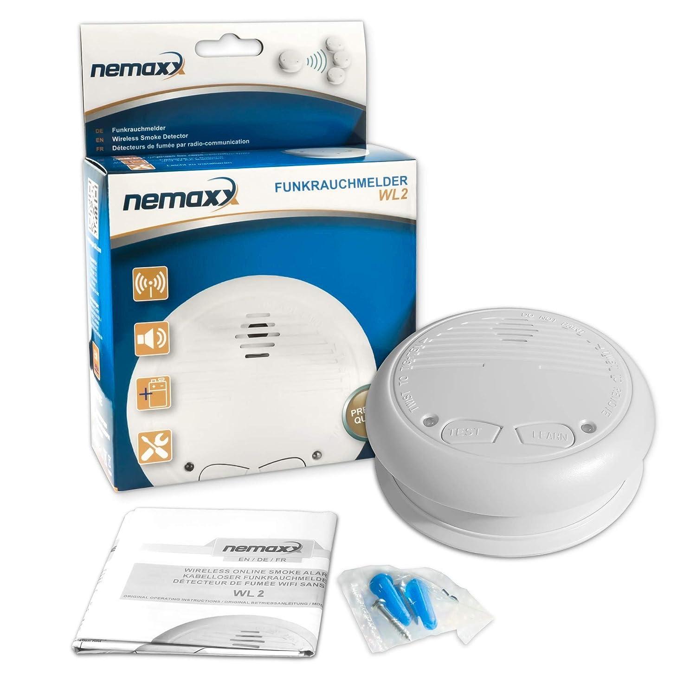 15x Nemaxx WL2 detectores de Humo inalámbricos - con DIN EN 14604: Amazon.es: Bricolaje y herramientas