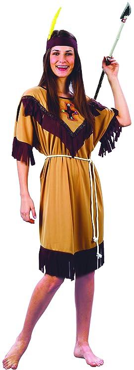 Disfraz de india para mujer Taille M: Amazon.es: Juguetes y juegos