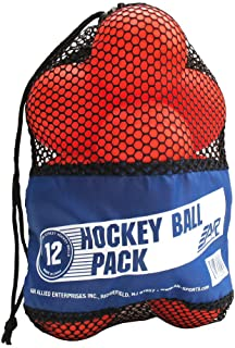 A&R Sports Hockey Balle (Lot de 12) OBALL12