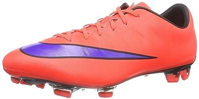reputable site 51886 63d59 Nike Mercurial Veloce II FG Herren Fußballschuhe, Mehrfarbig (Bright  Crimson Persian Violet-