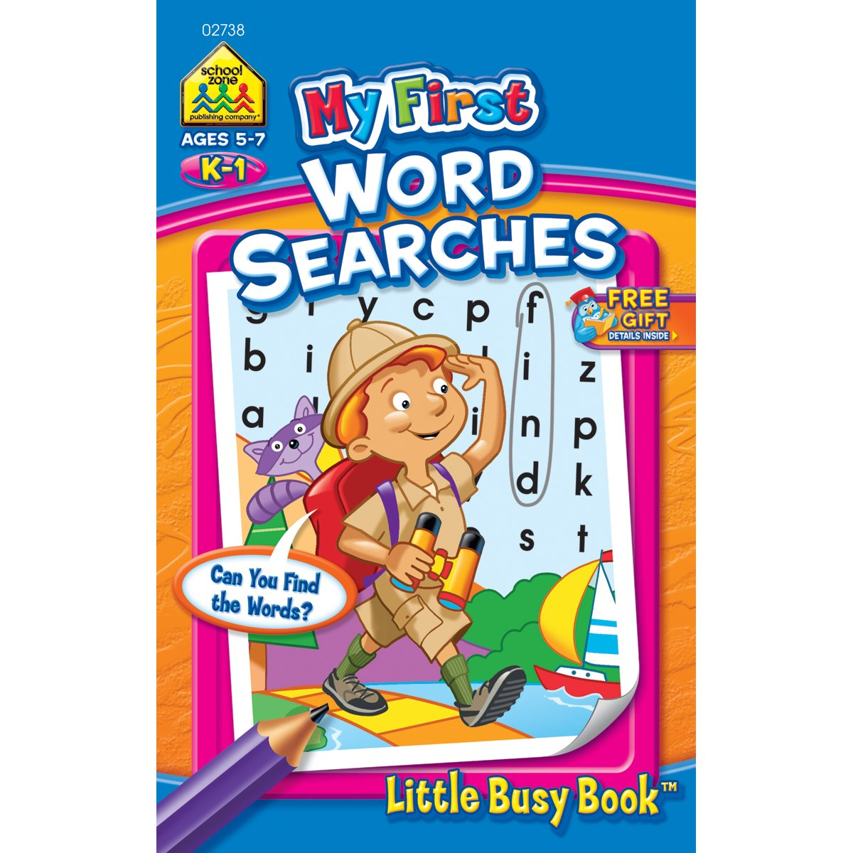 My First Little Busy Book-Word Search – Grades K-1