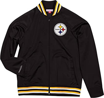 NFL Womens Steelers Poly Tricot Track Jacket