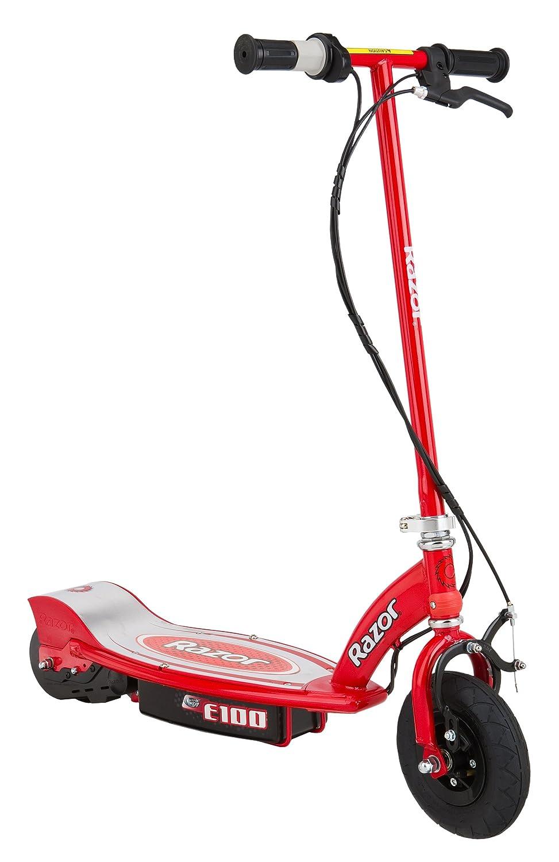 Razor E Scooter eléctrico color rojo