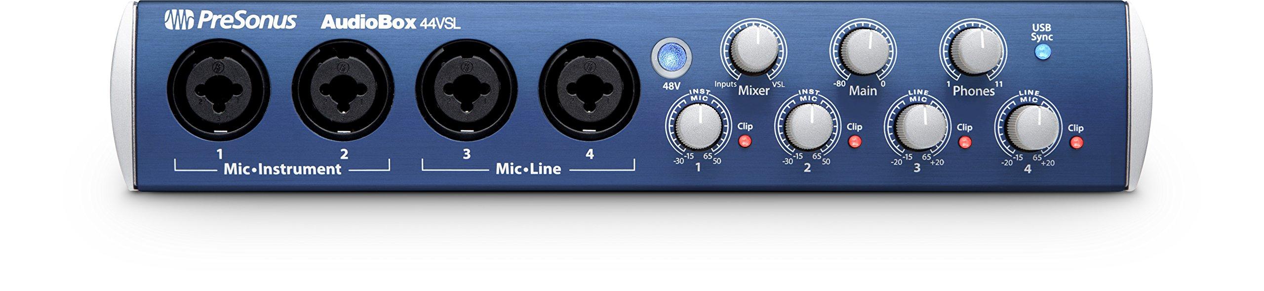 PreSonous Advanced Recording AudioBox 44VSL System
