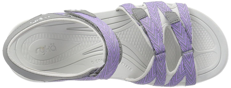 Ryka Women's Savannah Sandal B01KWH6NGU 7.5 B(M) US|Grey/Purpl