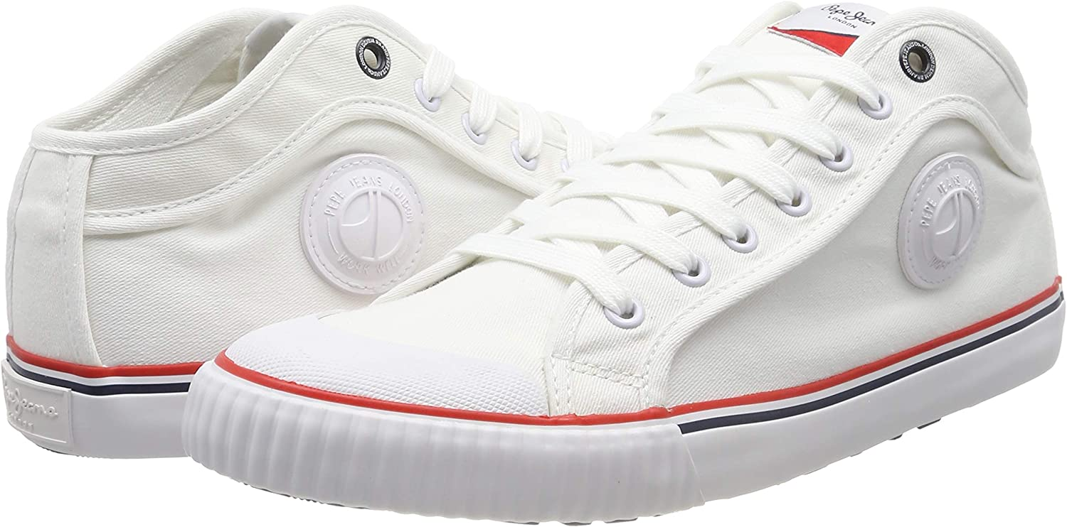 Pepe Jeans Industry Basic, Zapatillas para Hombre, Blanco 800white ...