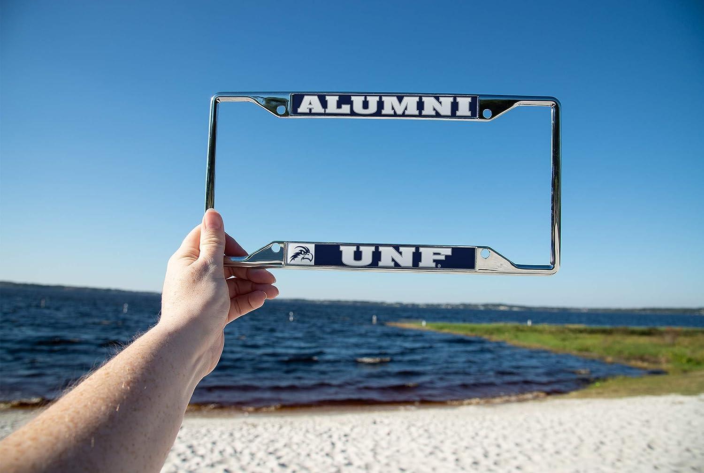 Desert Cactus University of North Florida UNF Ospreys NCAA Metal License Plate Frame for Front Back of Car Officially Licensed Alumni