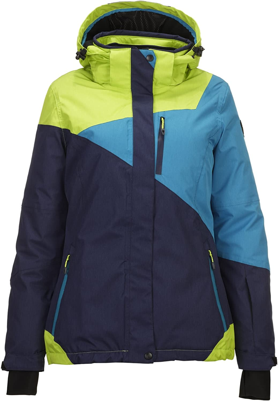 Funktionsjacke mit abzippbarer Kapuze und Schneefang Killtec Damen Kirty Skijacke Snowboardjacke