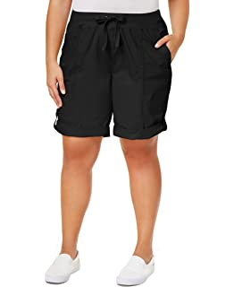 300fa596293da Calvin Klein Performance Women s Plus Size Baby Boucle Bermuda Short ...
