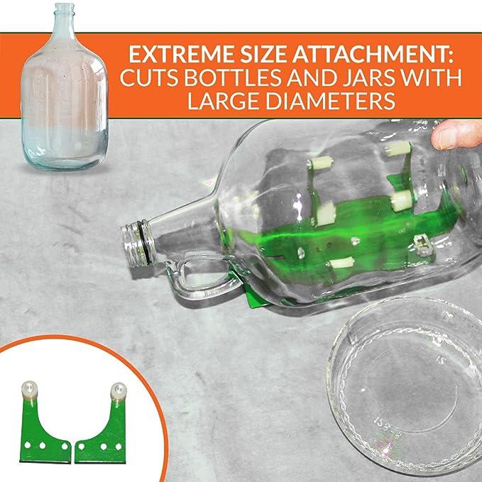 Botella cortador herramienta para cortar botellas de vino, tarro y botella - juego de moldes cortadores Ephrem de Deluxe botella herramienta de corte de ...