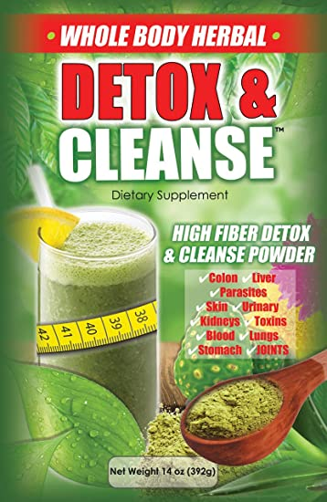 The Amazing Miracle Cleanse 14 Day Colon Detox and Weight Loss Supplement
