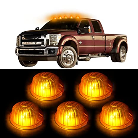 5X Amber 9069A Cab Marker Clearance Light+Switch+LED for Chevrolet truck New