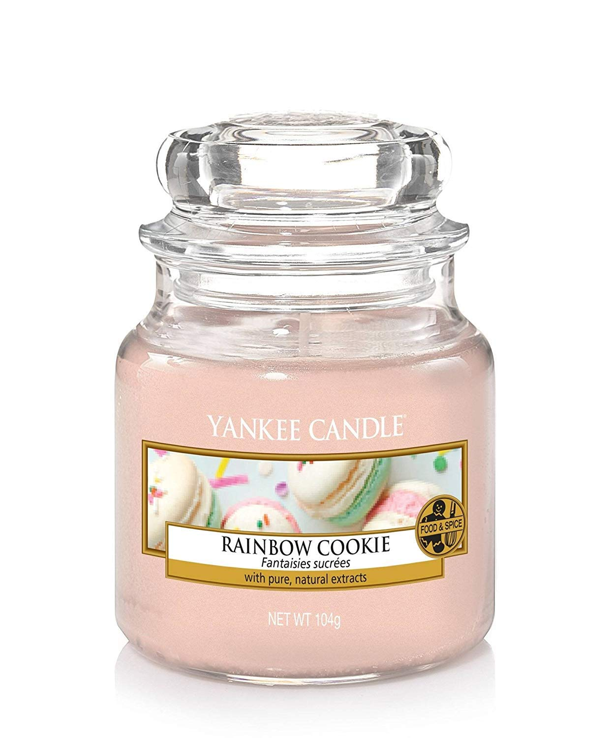 新到着 Yankee Candle Candle Rainbow Cookie Small Small Jar Jar B078HYL1C6, ペットの雑貨屋さん spring:9ff48e1e --- a0267596.xsph.ru
