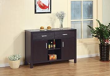 modern sideboards furniture. modern buffet fine dining serving table stand furniture dark espresso sideboards