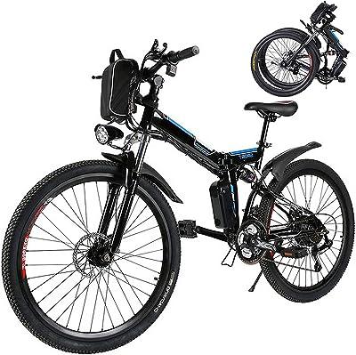 Eloklem E-bike Folding Electric Mountain Bike Image