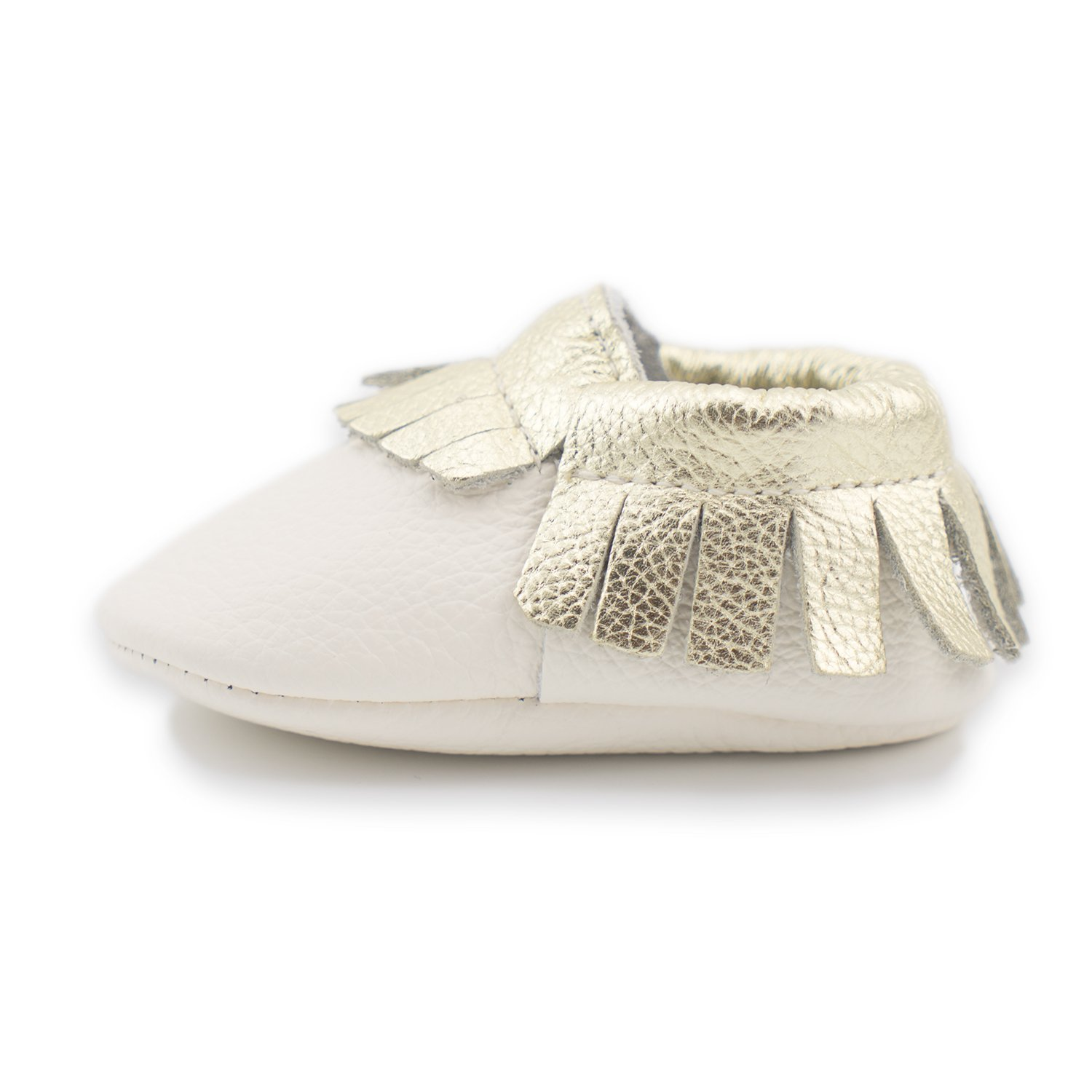 25dba49ad1d8 CoCoCute Baby Moccasins Soft Leather Sole Infant Shoes and Toddler  Moccasins for Boys and Girls (0-6 Month