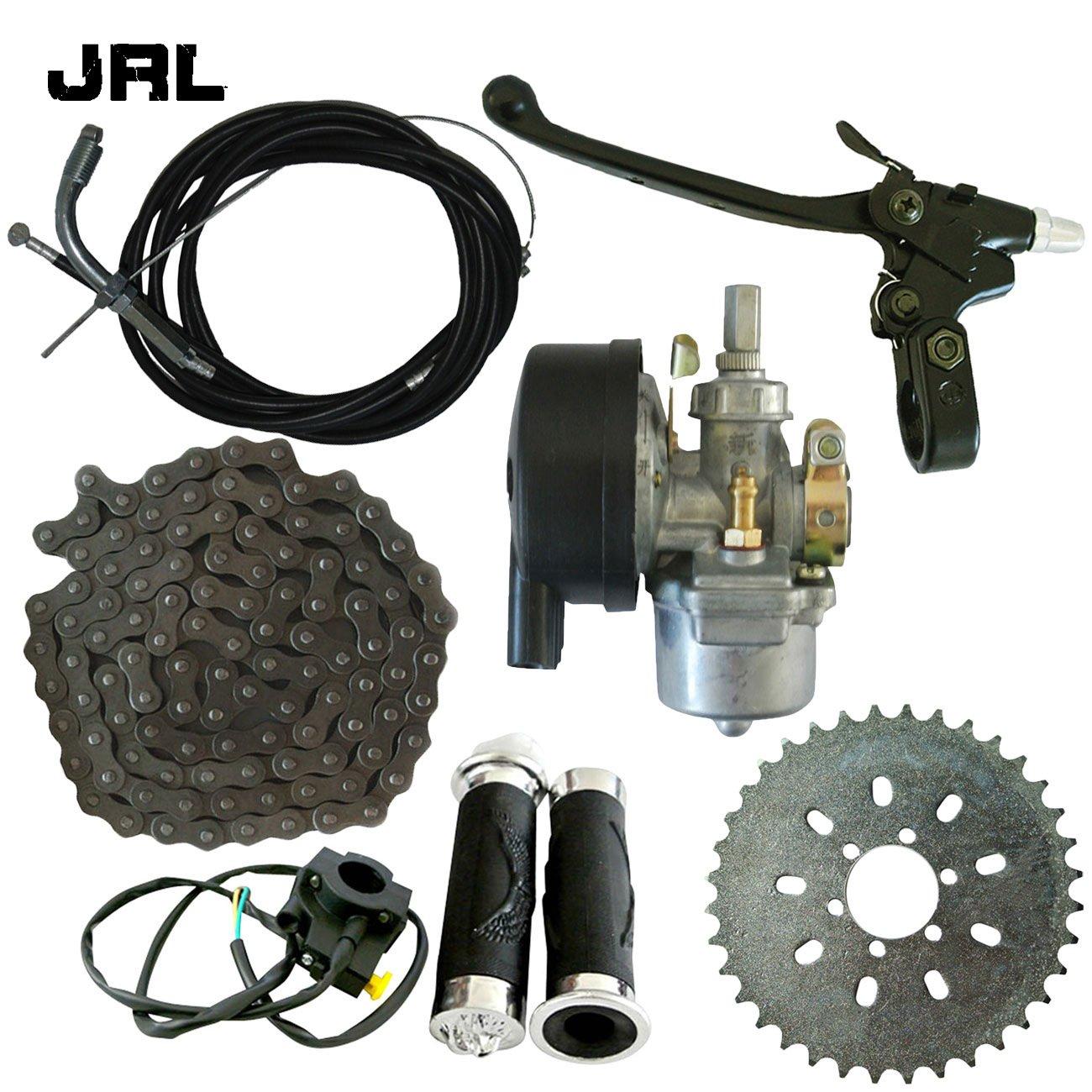 jrl 6 agujeros 36 dientes piñ ó n & 1 Set para manillar de bicicleta para 49/66/80cc motorizado bicicleta Huang Machinery
