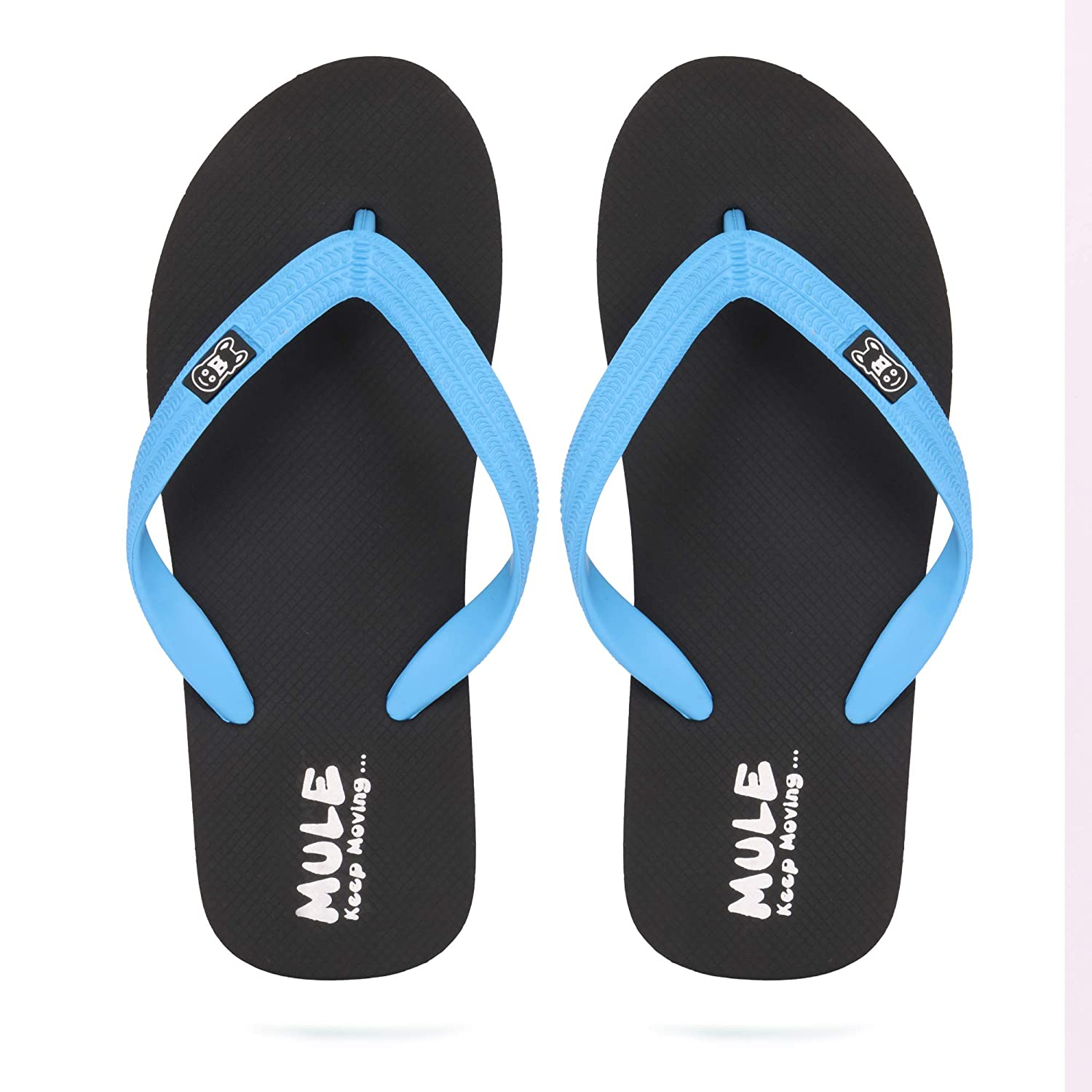 aaf64c437 MULE Anti Slippery Super Soft Natural Rubber FLIP Flops for Men  Buy Online  at Low Prices in India - Amazon.in