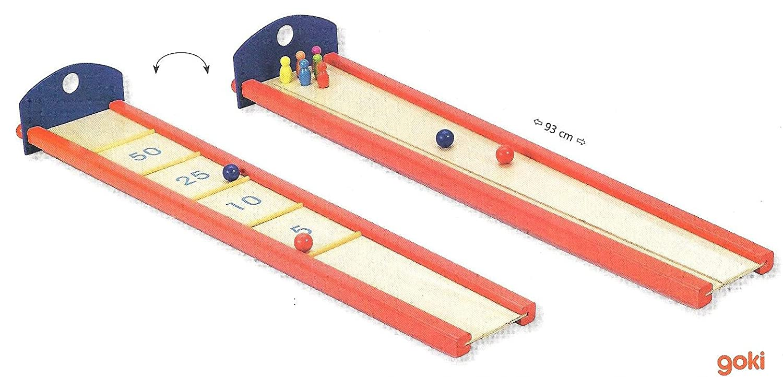 Goki Murmel- und Kegelbahn Kegelbahn Kegelbahn [Spielzeug] 6803cc