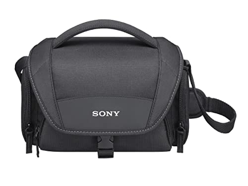 Sony LCS-U21B Soft Universal Carry Case - Black
