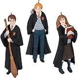Hallmark Keepsake Christmas Ornaments 2021, Mini Harry Potter The Trio Harry, Hermione and Ron Set of 3