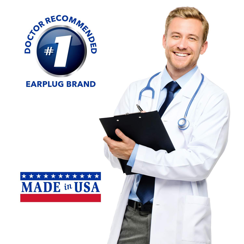 Pack of 50 Pairs Macks Ear Care Original Soft Foam Earplugs