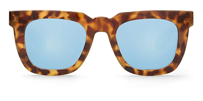 Mr Boho HC Tortoise Melrose with Sky Blue Lenses, Gafas de Sol Unisex, 50: Amazon.es: Ropa y accesorios