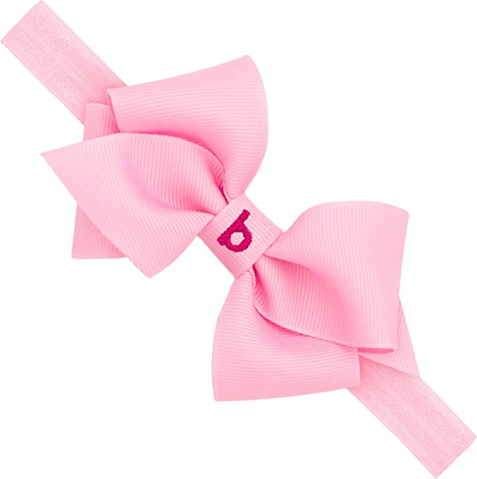 baby hair headbands accessories elastic girl removable red bow clip