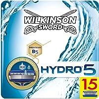 Wilkinson Sword Hydro 5 scheermesjes voor heren, geschikt voor brievenbus, 15 stuks