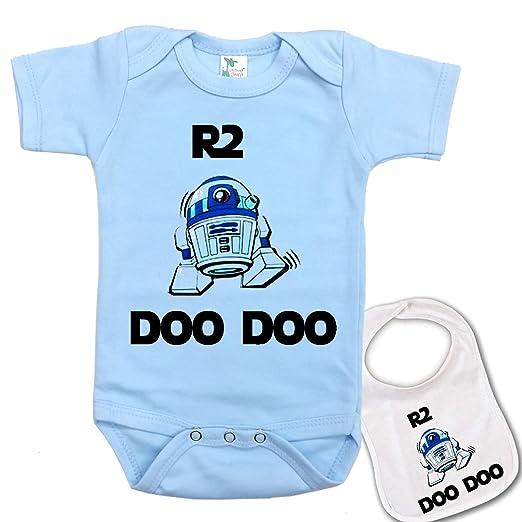 Amazon Com R2 Doo Doo Custom Printed Star Wars Baby Bodysuit