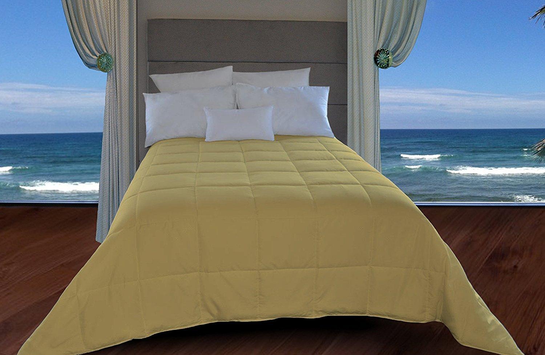 Natural Comfort King Size Down Alternative Comforter, Taupe DIP150GR-K