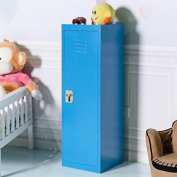 Amazon.com: Taquilla de almacenamiento de acero para niños ...