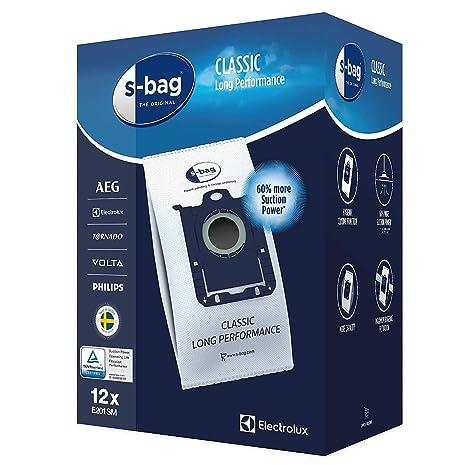 Electrolux E201SM Mega Pack 12 Bolsas Color blanco