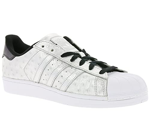reputable site 80f71 5dec5 adidas Originals Superstar Sneaker Silver AQ4701, Size 41 1 3