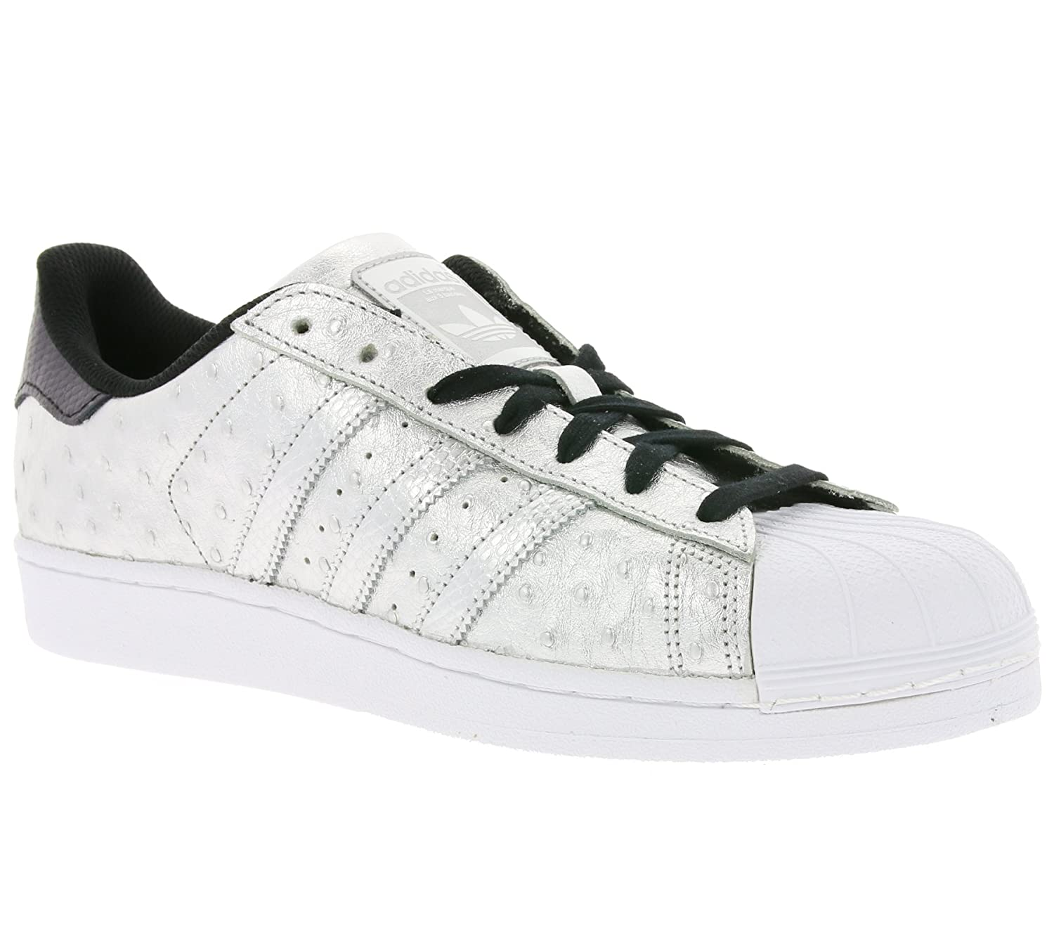 adidas Originals Herren Sneakers Superstar Ray Blue S75881 Silber