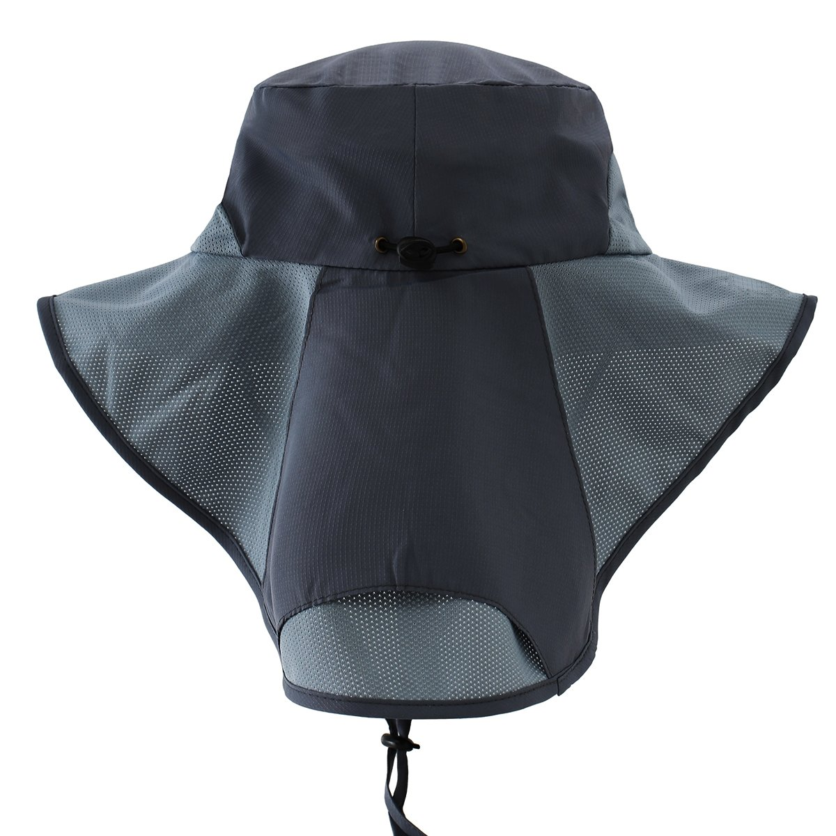 cc3a27ff152 Ksenia Unisex Wide Brim Outdoor Activities UV Protecting Fishing Cap Sun  Hats with Neck Flap