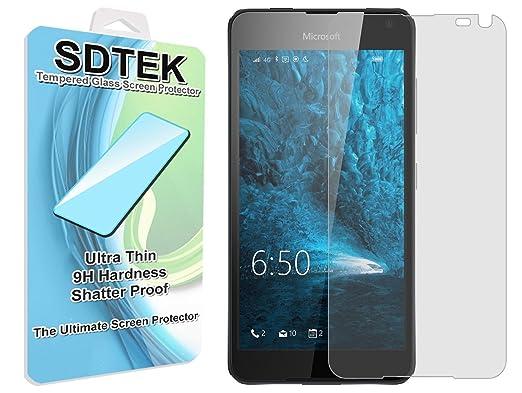 12 opinioni per SDTEK Microsoft Lumia 650 Vetro Temperato Pellicola Protettiva Protezione