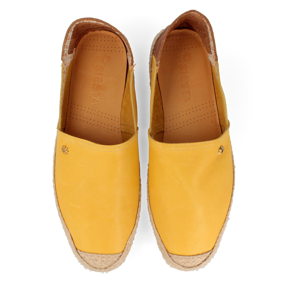 La siesta San Pedro, Alpargatas para Hombre, Amarillo (Mostaza 22), 40 EU: Amazon.es: Zapatos y complementos