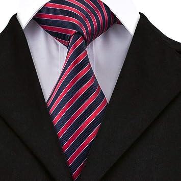 XZ Hombres de la moda corbata Sn-1504 corbata Lazo rayado Lazo ...