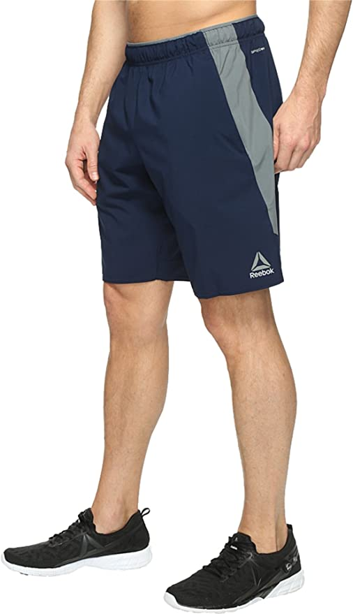 Reebok Men's Workout Ready Wv Shorts, Collegiate Navy, X-Large