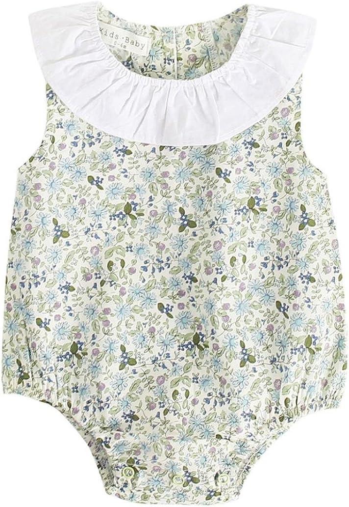 Baby Outfits Baby Strampler Einteiler Schlafanzug Jumpsuit Kleid Bodysuit Shirt Plus Size Playsuit Baby Schlafstrampler Babystrampler Neugeborenen Set M/ädchen LUCKDE Kinder Spielanzug