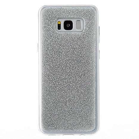 Bangcool Funda Samsung Galaxy S8 Plus Bling Espalda Carcasa ...